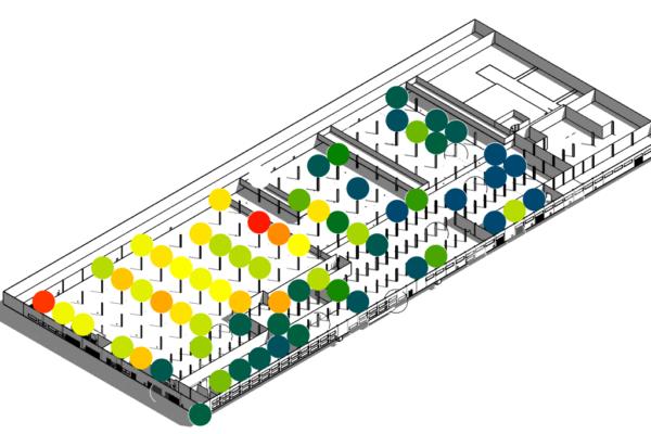 8 Mappa sensori 3D