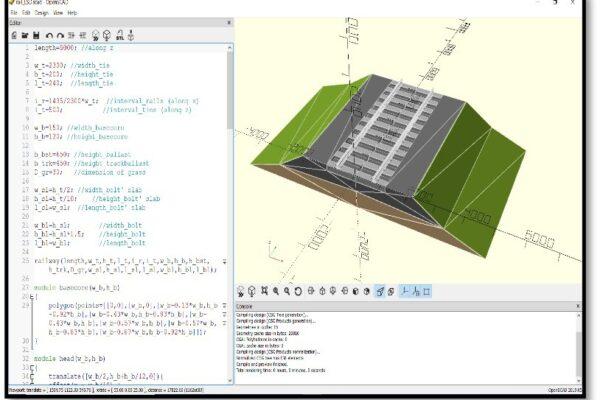 2 Immagine1 - Interfaccia di OpenSCAD